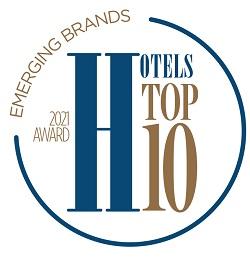 Hotels Top 10 award Emerging Brands