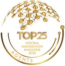 top 25 migration agent badge