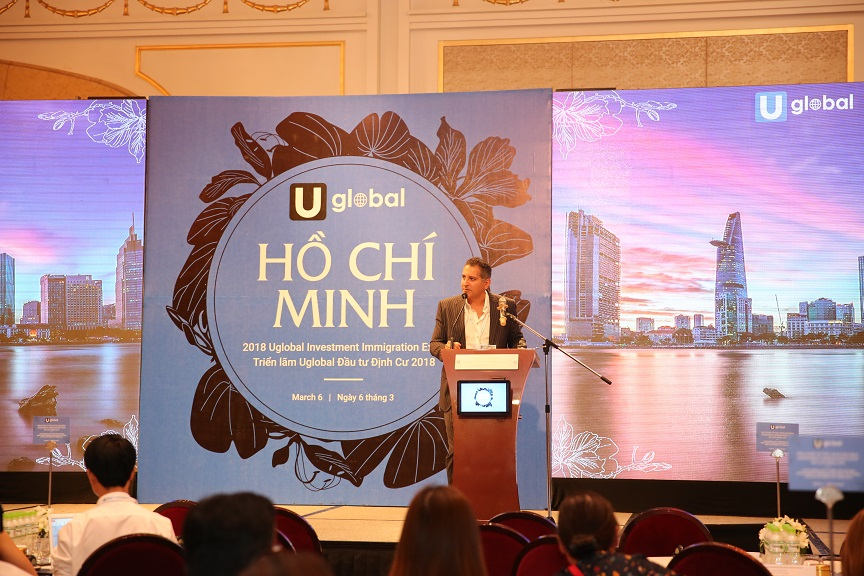 CEO & Founder of Uglobal at Ho Chi Minh City Expo