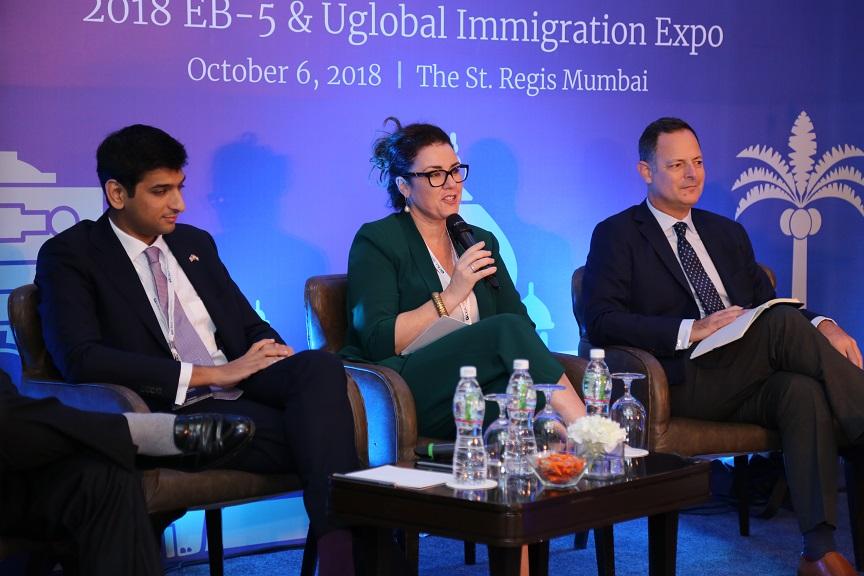 Panelists at Uglobal Immigration Expo Mumbai